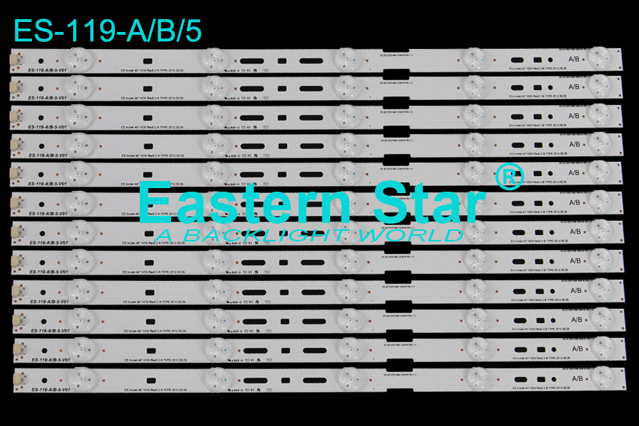ES-119 TV Backlight use for Sony 40'' 2012SONY40A/B 3228 05 REV1.0 led backlight strips (12)