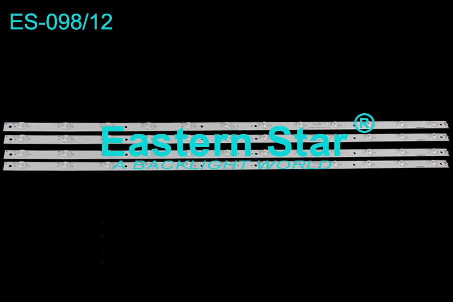 ES-098 TV backlight use for Skytech/Sanyo 42'' 12LEDs ZDCX42D12-ZC14F-07 2013-11-04 led strips (4)