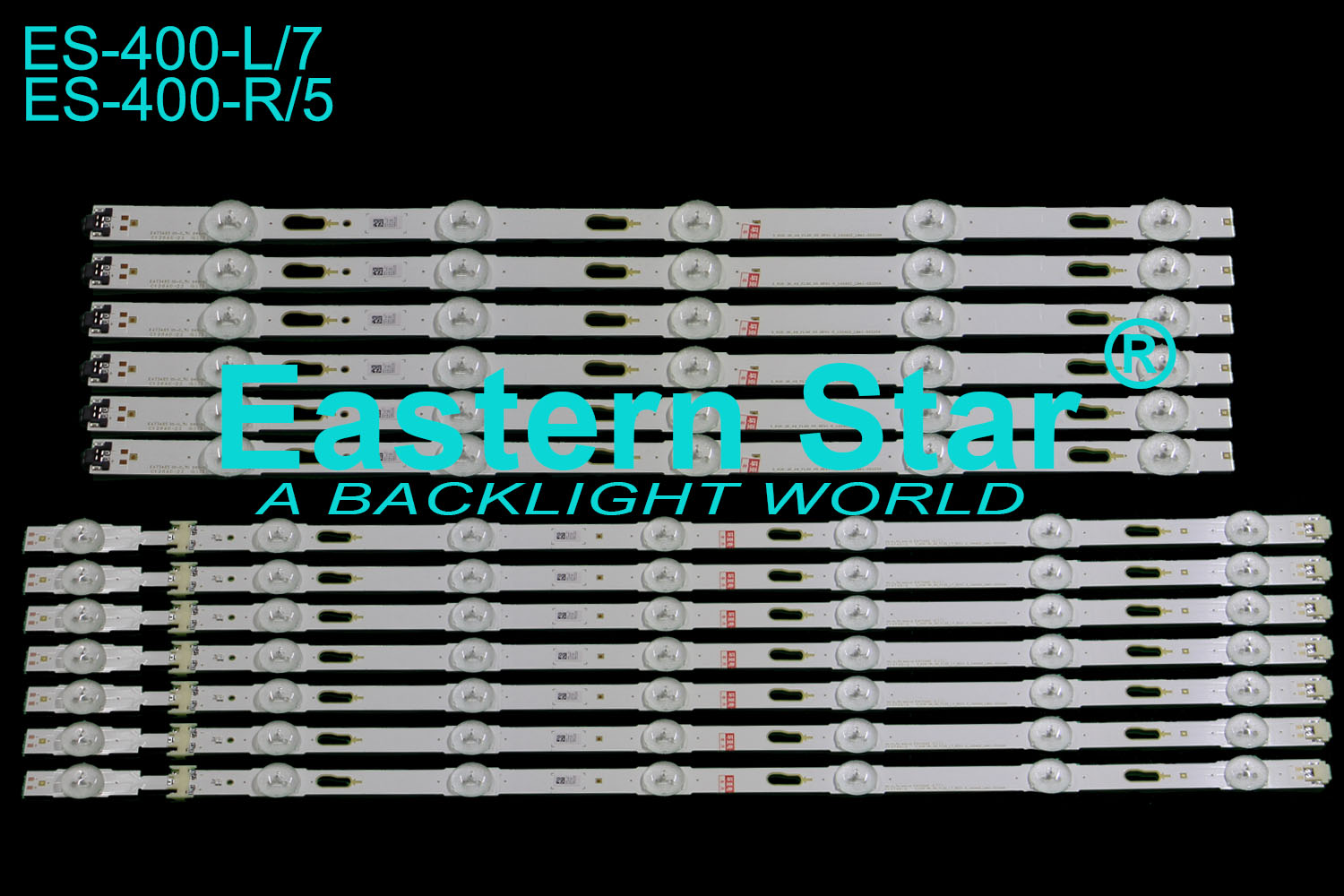 ES-400 LED TV Backlight use for SAMSUNG 49'' S_KU6.3K_49_FL30_L7/R5_REV1.0_160402_LM41-00334/5A LED STRIPS(12)